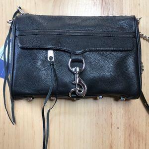 NWT Rebecca Minkoff Black MAC Handbag